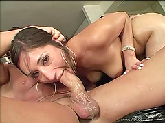 Alexis Breeze Rides A Huge Cock In Oiled Hardcore Fucking