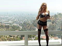 Briana Banks looks breathtaking getting ass fucked