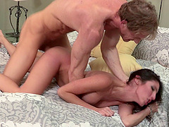 Dava gets a fine pussy licking and the drilling that she won't forget