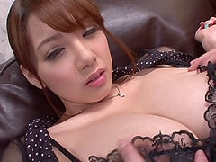 Shion Utsunomiya has her restless pussy vibrated tirelessly