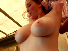Noelle Easton is a curvy beauty who cannot resist a black love rod