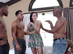 Chanel Preston is a hot housewife in need of black dicks
