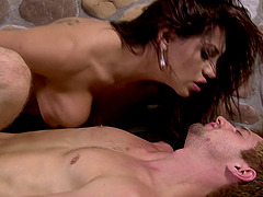 First-class ass licking with JD Phoenix and lusty Jessy Dubai