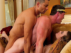 Kat Monroe likes when two guys fuck her more than anything else
