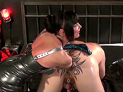 Carmen Rivera adores all kinky sex games with her horny friends