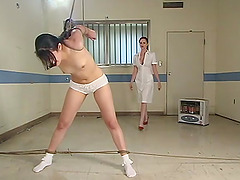 Penny Barber and Mz Berlin enjoy hard lesbian sex games and BDSM