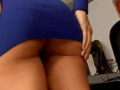 Sexiest Boss Ever Sophie Moore Masturbating in the Office