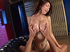 Hot mature chick Reiko in sexy lingerie and fucking