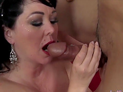 Sexy and hot BBWs enjoy taking hard dicks in mouth and perform wonderful blowjobs