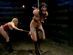 Bobbi Starr is under the BDSM passion of Aiden Starr