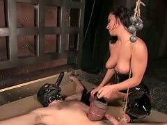 Poor guy gets toyed deep and hard by his mistress