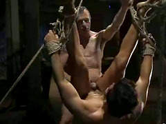 Gay BDSM Video with Cock Sucking and Ass Toying and Fucking